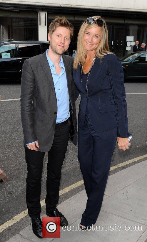Christopher Bailey and Angela Ahrendts