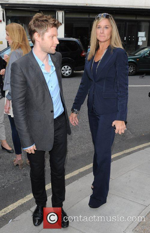Christopher Bailey and Angela Ahrendts 2
