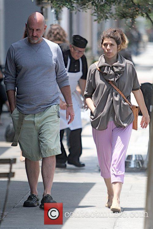 Marisa Tomei leaving Joan's on Third restaurant after...
