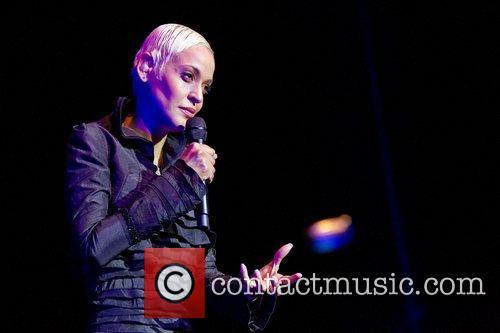 Mariza, Portuguese fado singer, performing live at Coliseu...
