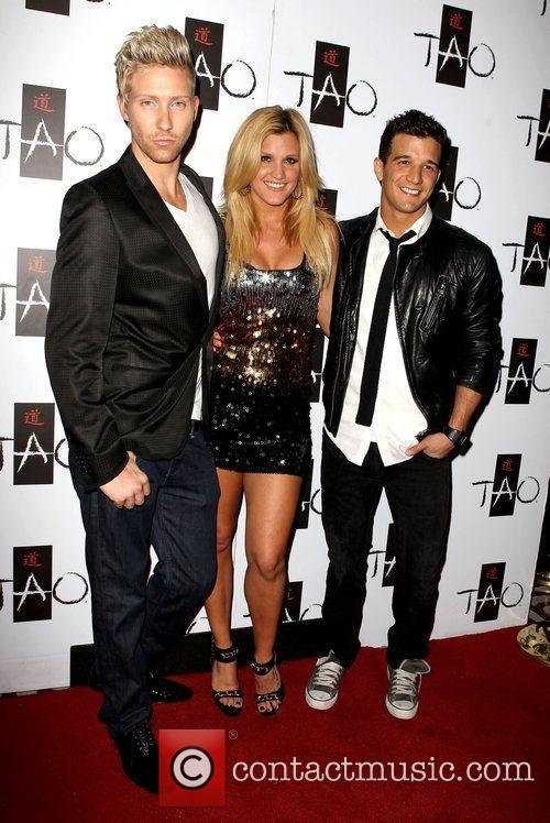 Bobby Newberry, Ashley Roberts and Mark Ballas Mark...