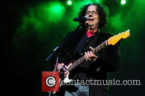 Mark 'Flo' Volman of the Turtles  performs...