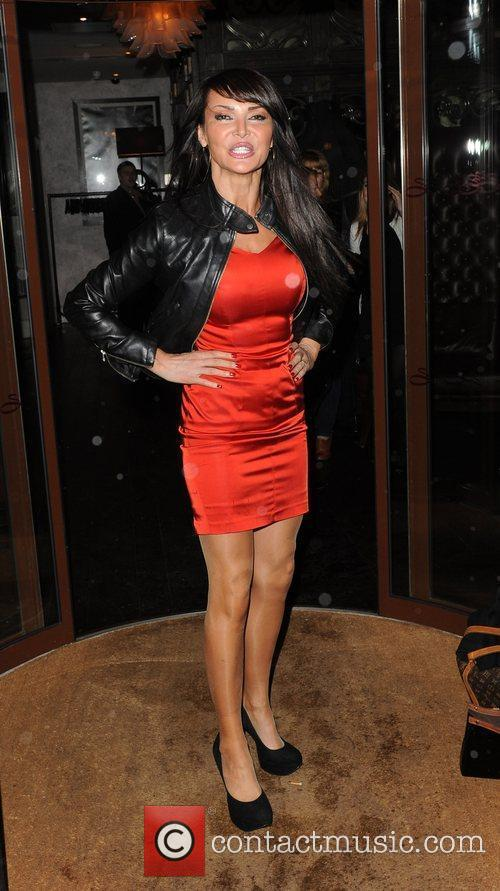 Lizzie Cundy Mark Heyes Book Launch Party at...
