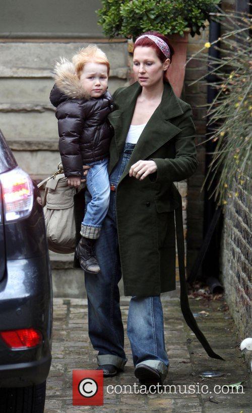 Emma Ferguson, the wife of Mark Owen leaves...