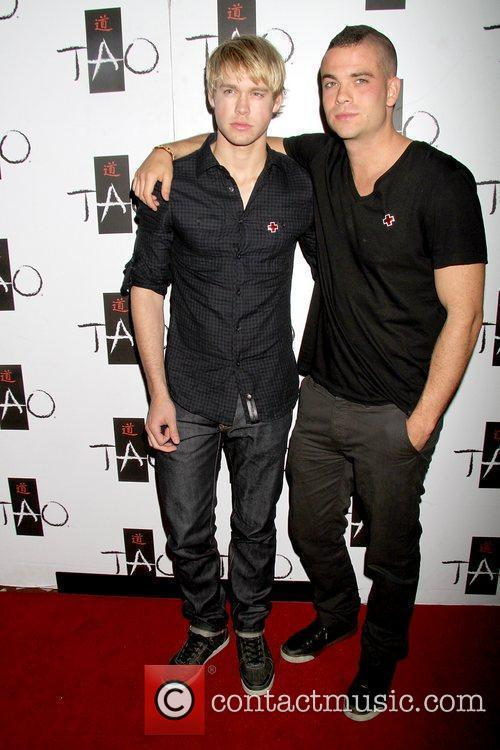 Chord Overstreet and Mark Salling Glee's Mark Salling...