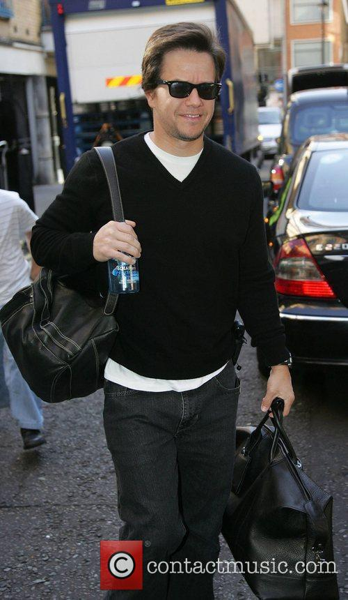 Mark Wahlberg spotted strolling through Soho in central...