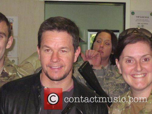 Mark Wahlberg visits US troops in Afghanistan