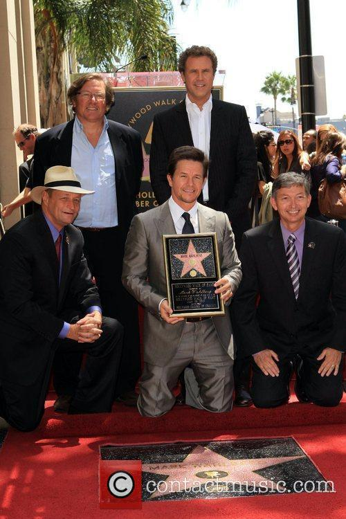 Will Ferrell, Mark Wahlberg is honored on The...