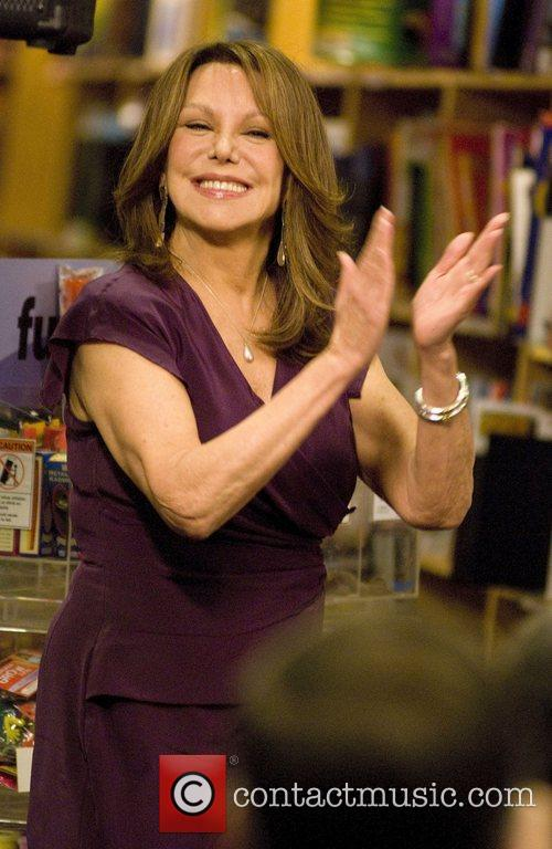 Marlo Thomas at a discussion and signing for...