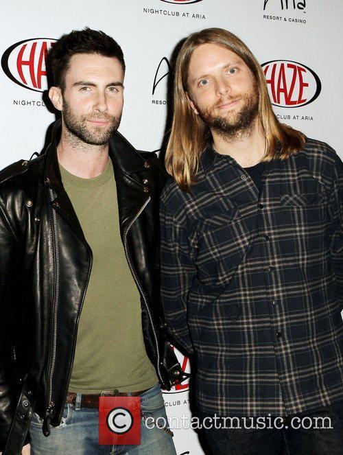 Adam Levine and James Valentine Adam Levine and...