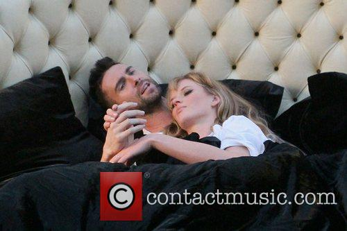 Adam Levine and Anne Vyalitsyna 7
