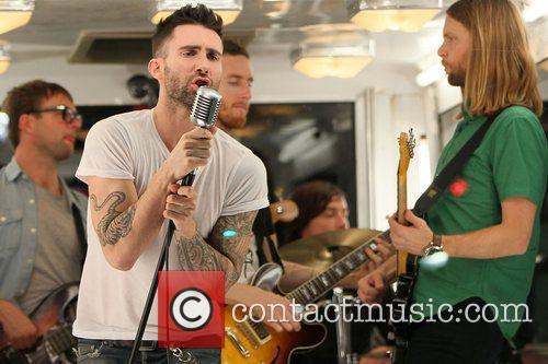 Adam Levine and James Levine 3