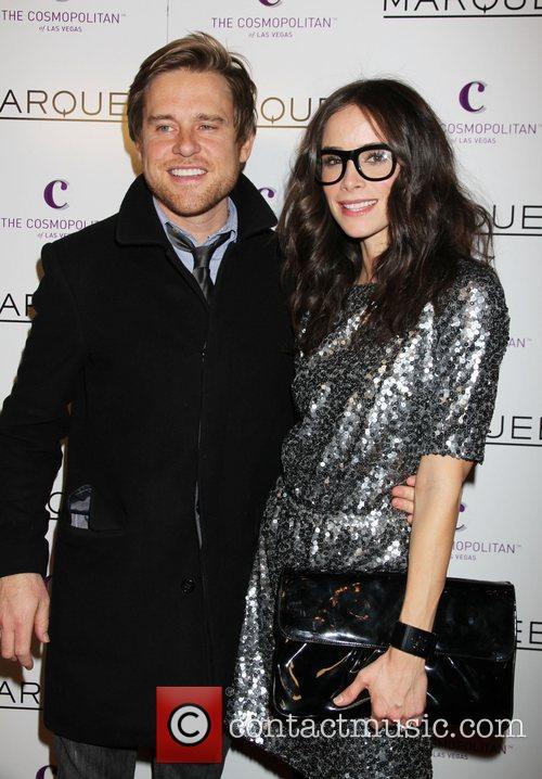 Abigail Spencer and Andrew Pruett The Cosmopolitan Grand...