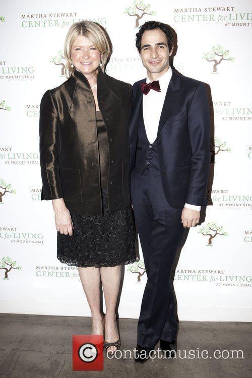 Martha Stewart and Zac Posen 8