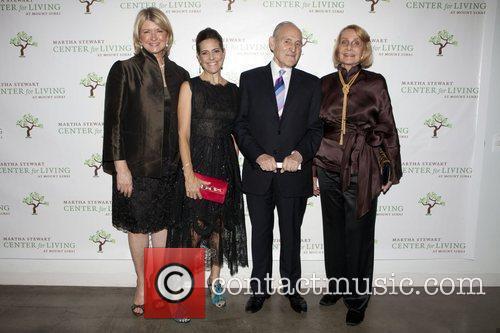 Martha Stewart, Alexandra Lebenthal, Dr. James Lebenthal and...