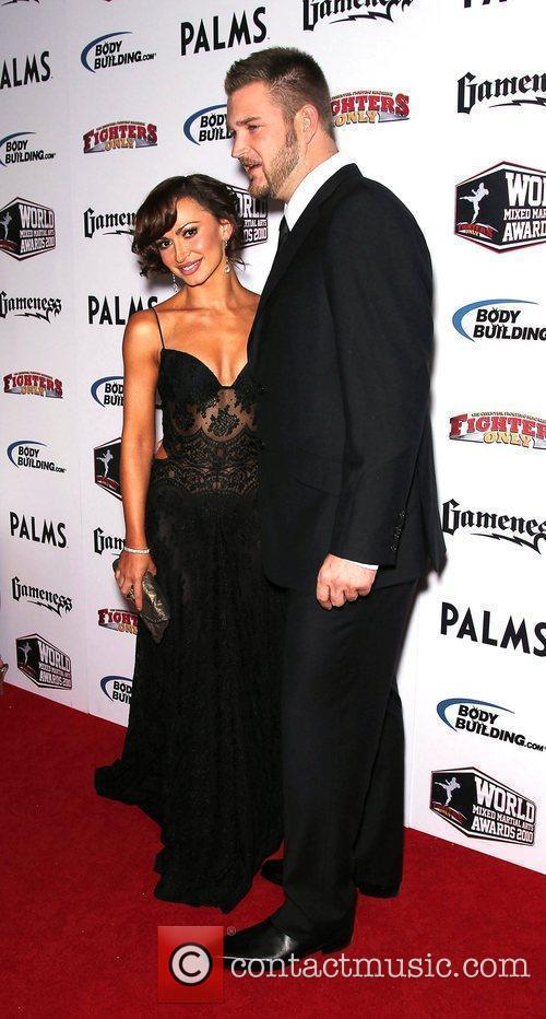 Karina Smirnoff and Brad Penny 3rd Annual Fighters...