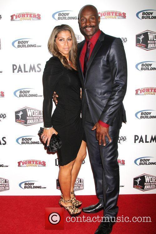 Jerry Rice, Leticia Pelayo 3rd Annual Fighters Only...