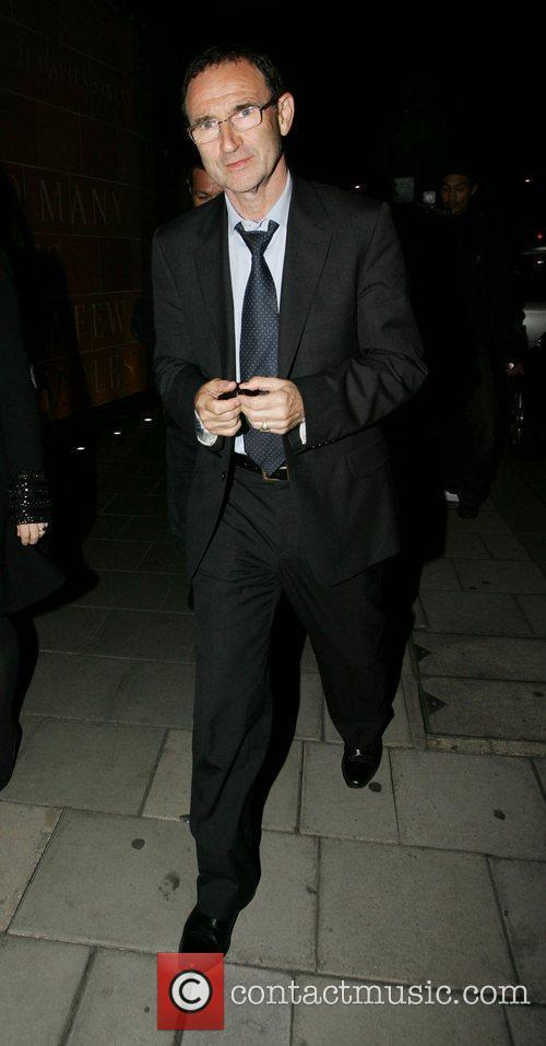 Former Aston Villa Manager, Martin O'Neill leaving C...