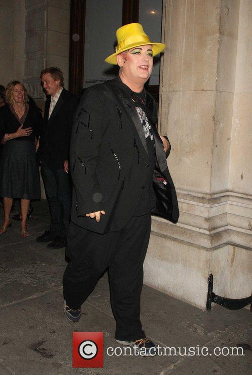Boy George attends the Martina Rink book launch...
