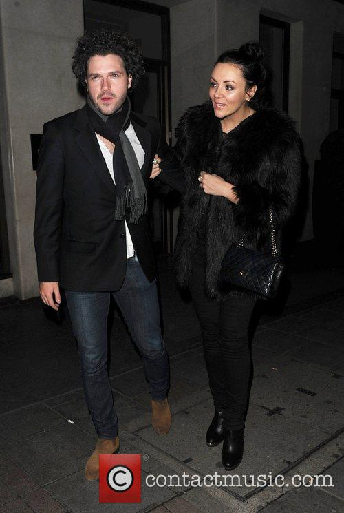 Martine McCutcheon and Jack McManus leaving the May...