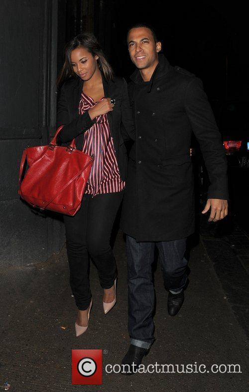 JLS band member Marvin Humes is spotted out...