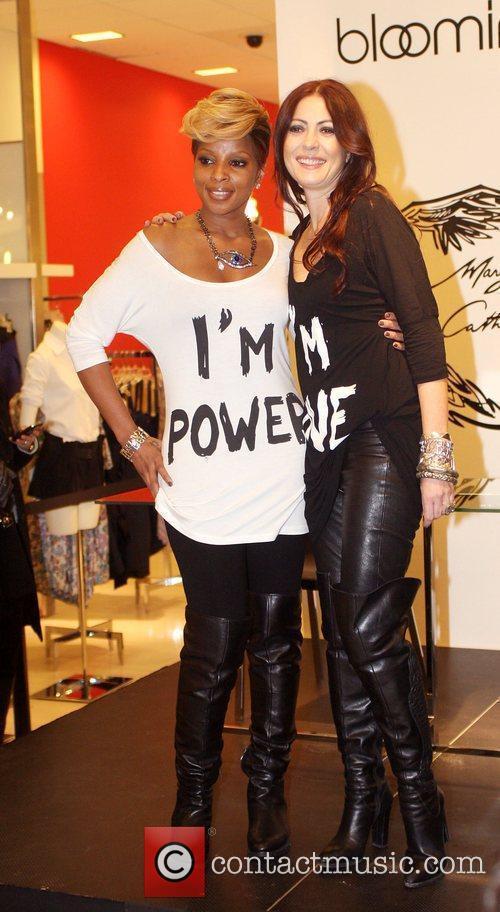Grammy award-winning recording artist Mary J. Blige and...