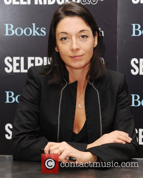 Mary McCartney  signs copies of her book...