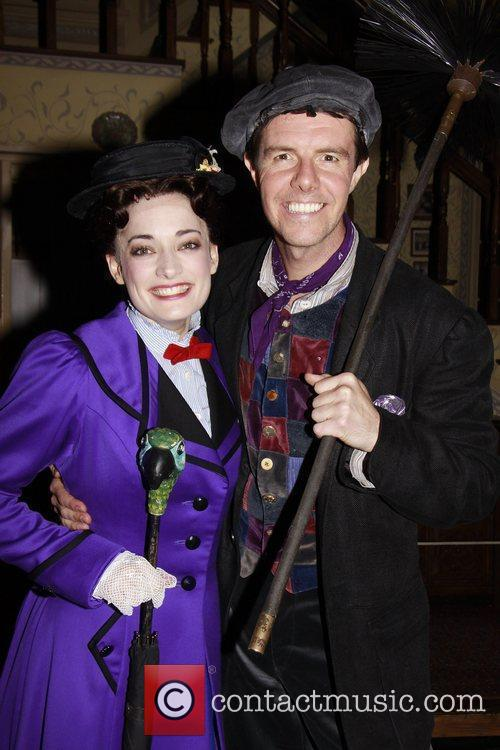 Laura Michelle Kelly, Gavin Lee and Mary Poppins 2