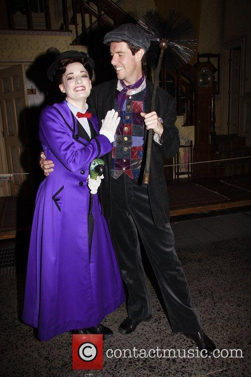 Laura Michelle Kelly, Gavin Lee and Mary Poppins 8