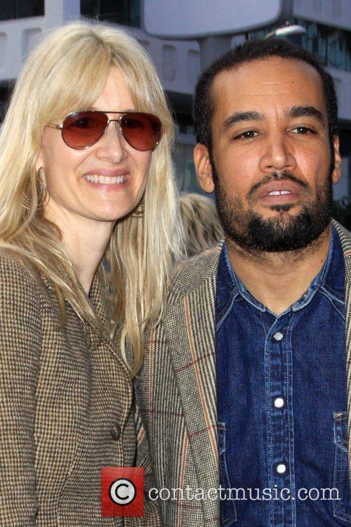 Laura Dern and Ben Harper 5