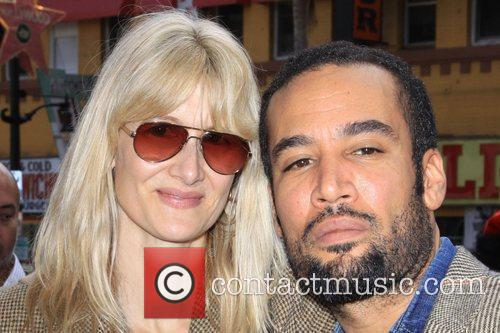 Laura Dern and Ben Harper 1