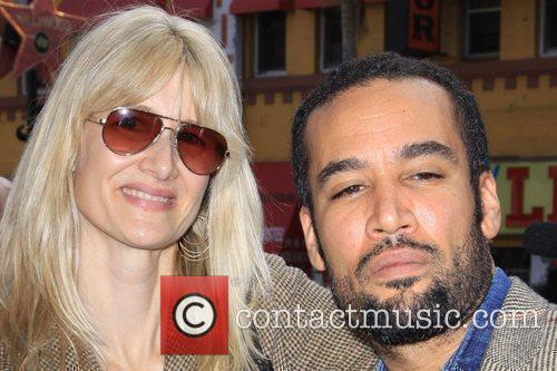 Laura Dern and Ben Harper 4