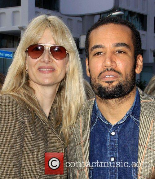Laura Dern and Ben Harper 6