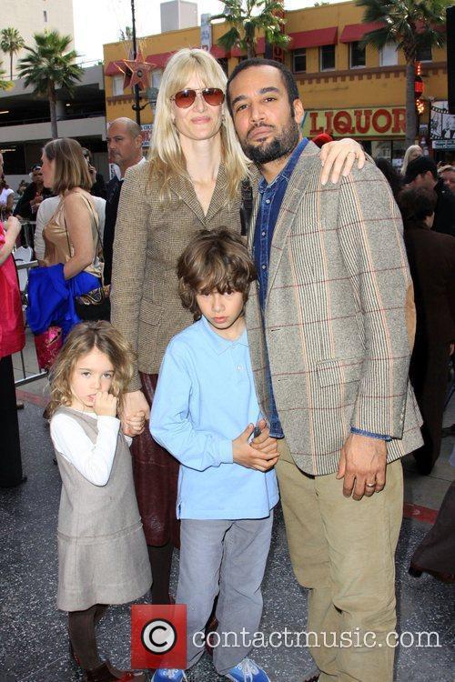 Laura Dern, Ben Harper, Star On The Hollywood Walk Of Fame