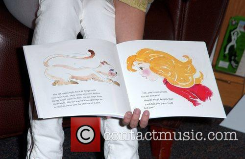 Atmosphere Signing of Masiela Lusha first children's book...