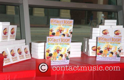 Signing of Masiela Lusha first children's book 'Boopity...