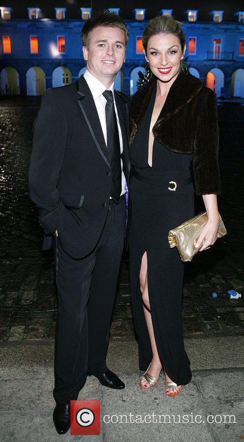 Brian Ormond and Pippa O Connor Masquerade Ball...