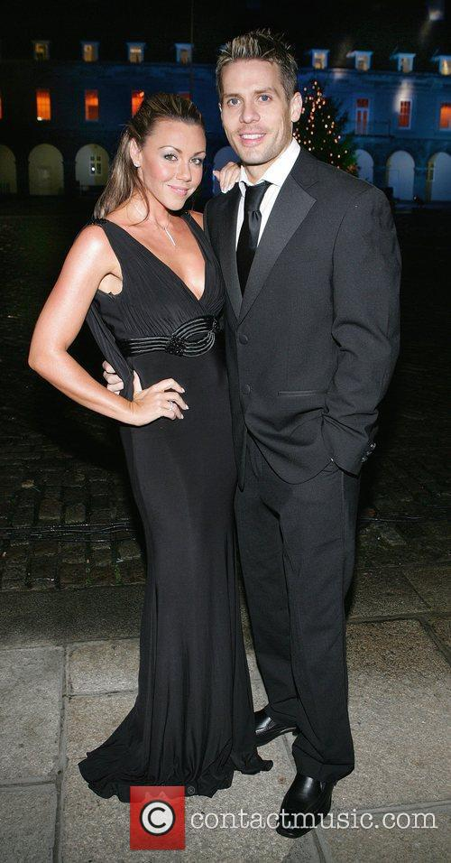 Michelle Heaton and Hugh Hanley Masquerade Ball 2009...