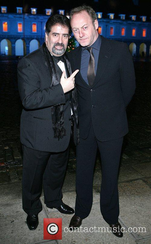 Robbie Fox and Liam Cunningham 2