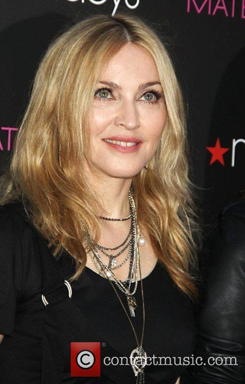 Madonna at the 'Material Girl' collection launch held...