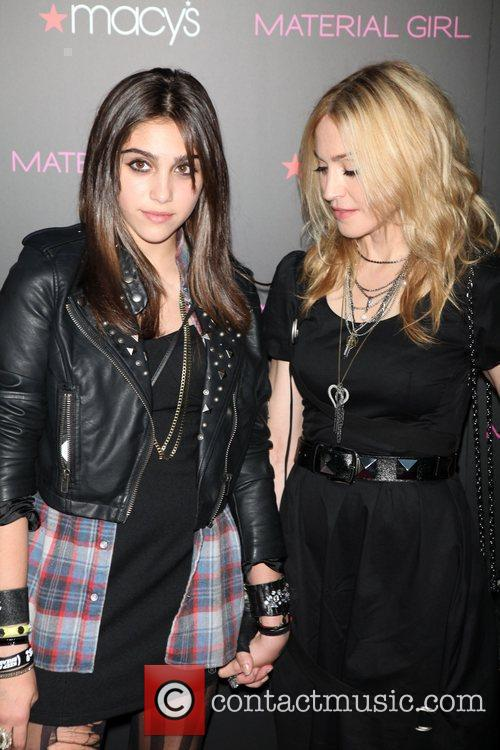 Lourdes Leon and Madonna  'Material Girl' collection...