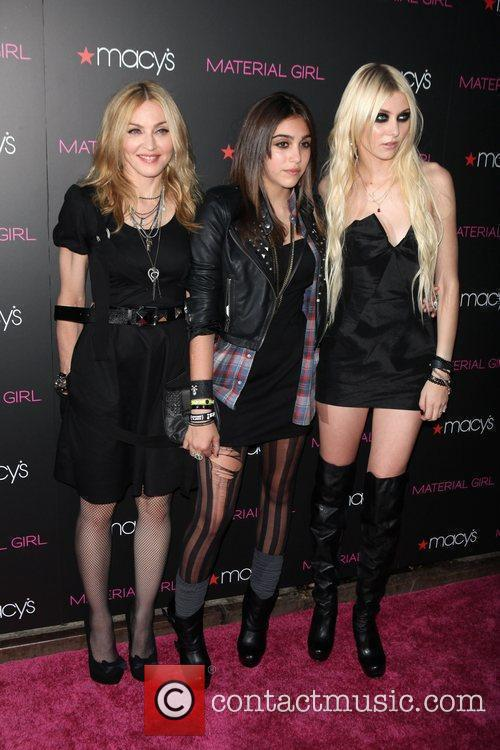 Madonna, Lourdes Leon and Taylor Momsen 'Material Girl'...