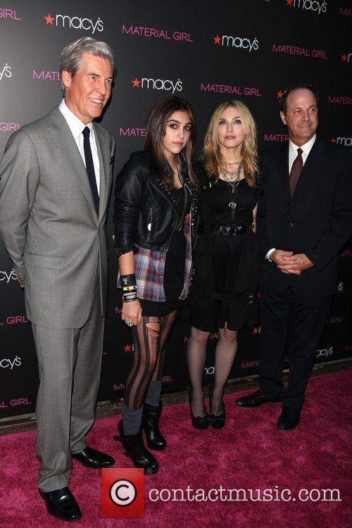 Terry Lungren, Lourdes Leon, Madonna and Guest 'Material...