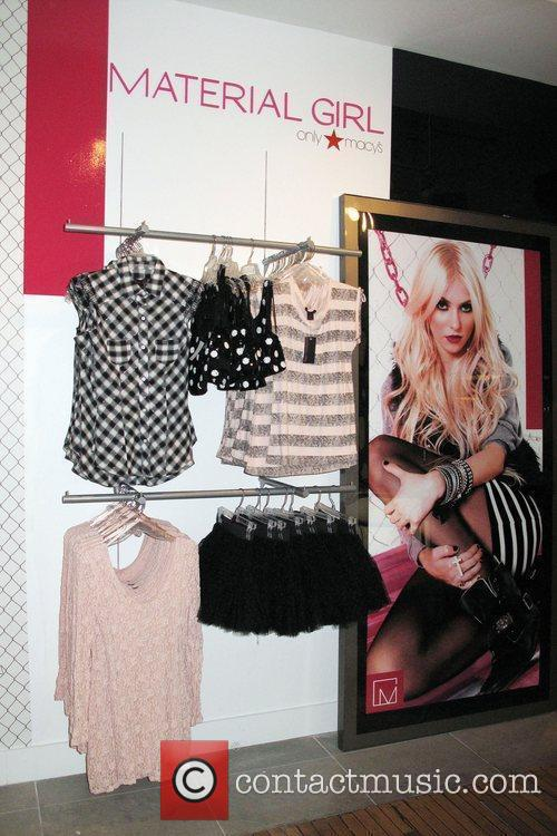 Picture - Material Girl clothing and Madonna at Macy s