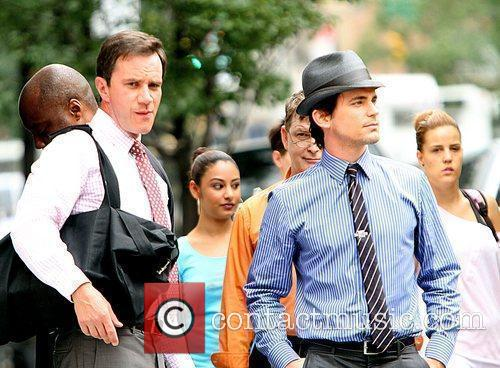 Matt Bomer Shooting On Location For The 2nd Season Of Usa Networks Television Series 4