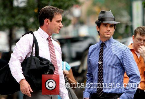 Matt Bomer Shooting On Location For The 2nd Season Of Usa Networks Television Series 9
