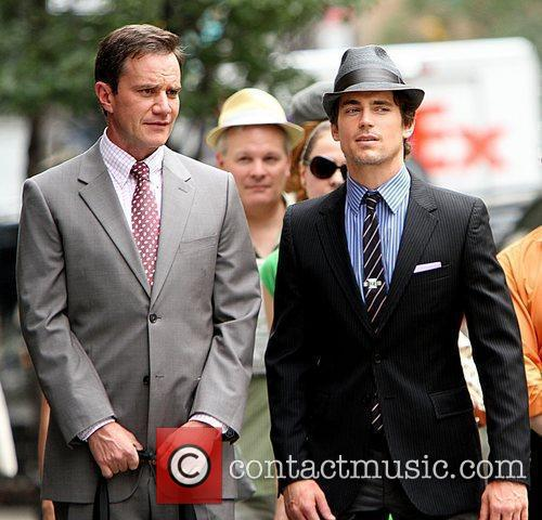 Matt Bomer Shooting On Location For The 2nd Season Of Usa Networks Television Series 10