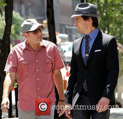 Matt Bomer Shooting On Location For The 2nd Season Of Usa Networks Television Series 3