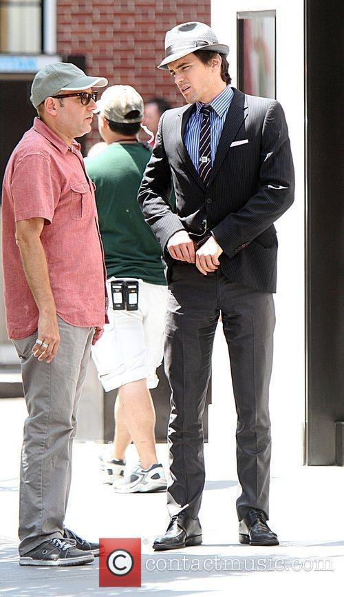 Matt Bomer Shooting On Location For The 2nd Season Of Usa Networks Television Series 5
