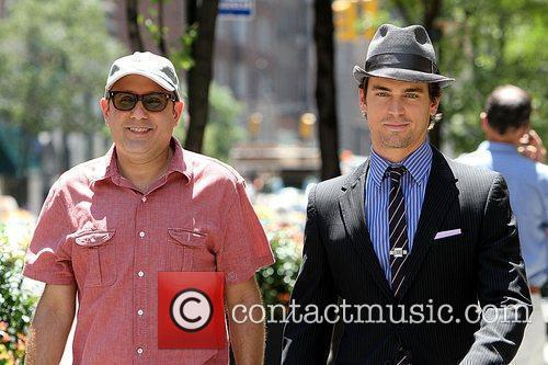 Matt Bomer Shooting On Location For The 2nd Season Of Usa Networks Television Series 7